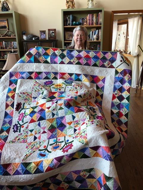 Winner of 2018 Raffle Quilt